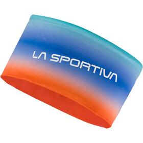 La Sportiva Fade Headband Unisex Aqua/Lily Orange